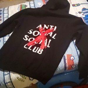 New Anti Social Social Club Hoodie size XXL